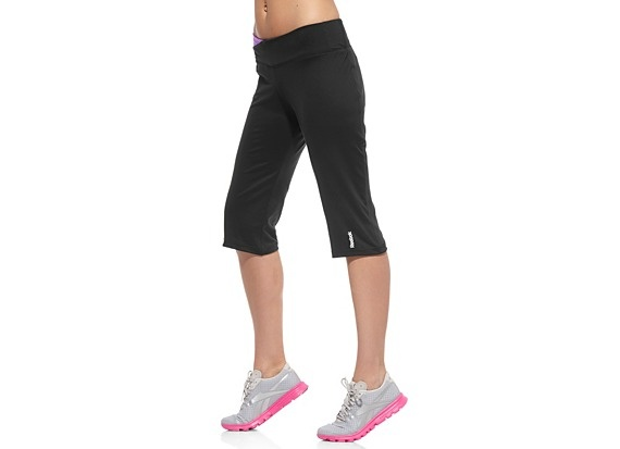 Reebok Play Dry Capri - loving the look of these + the wide waistband