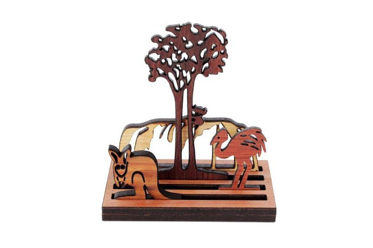 Handmade Wooden Australian Landscape - FREE Shipping for orders over $100