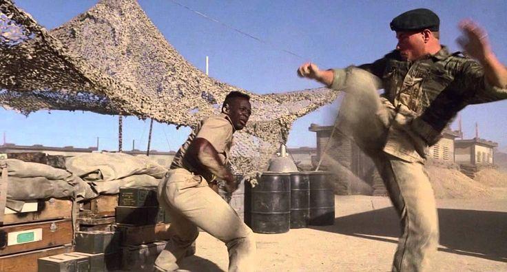 Leão Branco - O Lutador Sem Lei (1991) 720p. (HD)
