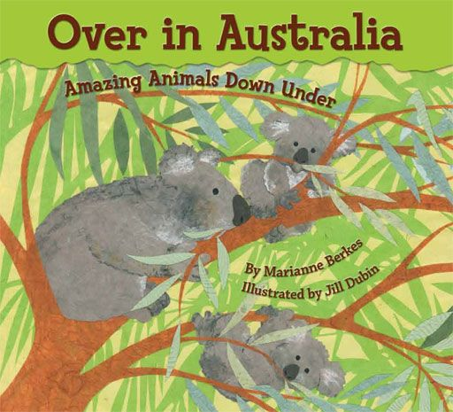 Most of the animals in Australia are unique—they live ONLY in Australia. From kangaroos to koalas, they are a fascinating bunch. Once again, Marianne Berkes makes learning fun. Kids will hop, slurp, and munch as they imitate and count the animals. Like Over in the Arctic, the cut-paper illustrations will inspire many an art project. Plus Marianne provides tons of ideas for activities and curriculum extensions about Australia, literature, writing, and animals.