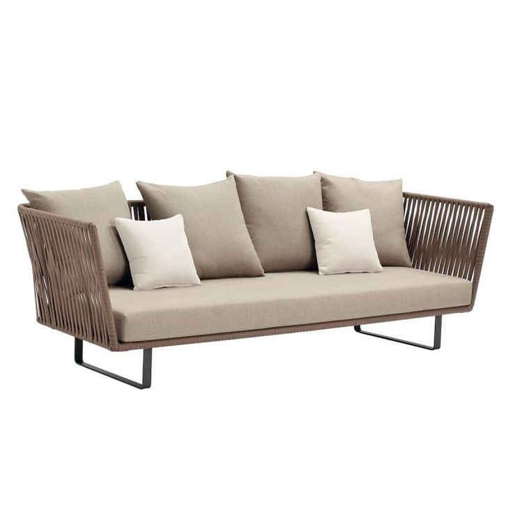 Kettal bitta 3 seater sof outdoor pinterest mi for Sofa exterior hierro