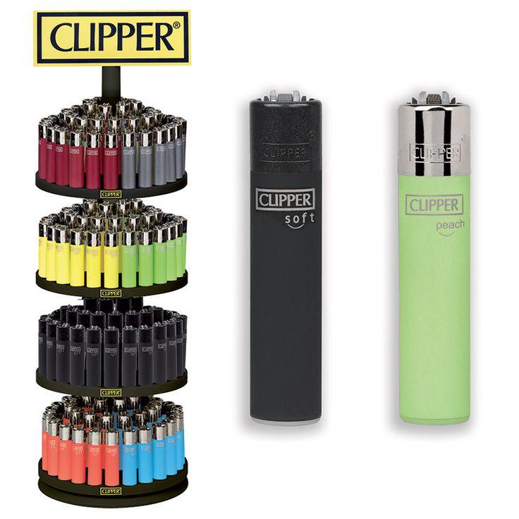 Un espositore completamente dedicato alla gamma di accedini Clipper Micro dalle finiture più svariate!