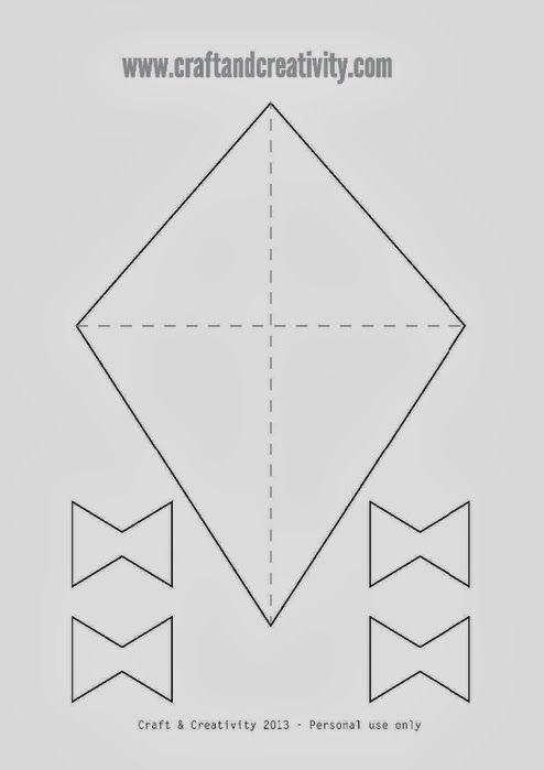 Πώς θα φτιάξουμε ένα χαρταετό-craft for kids-οδηγίες