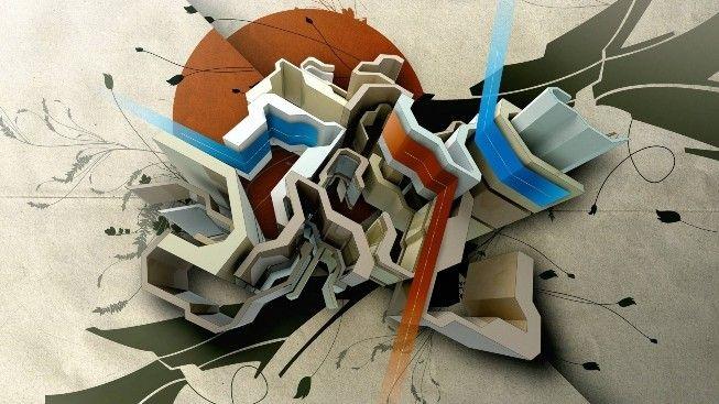 Renkli Karmaşık #wallpaper #soyut #abstract