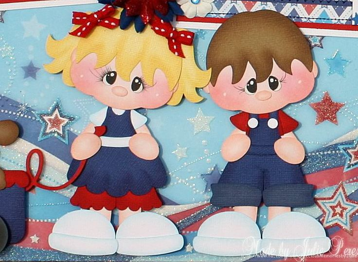 paper piecing 4th of july | Photobucket