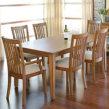 Love this dining set rileys corner 7 pc set jcpenney for Dining room tables jcpenney