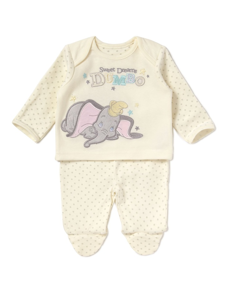 17 Best Images About Dumbo Baby Clothes On Pinterest