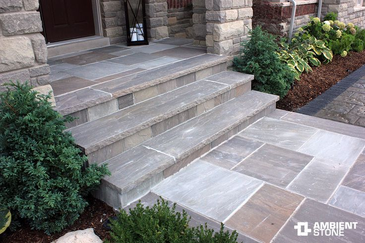 Slate Walkway (Cement Porch Step)