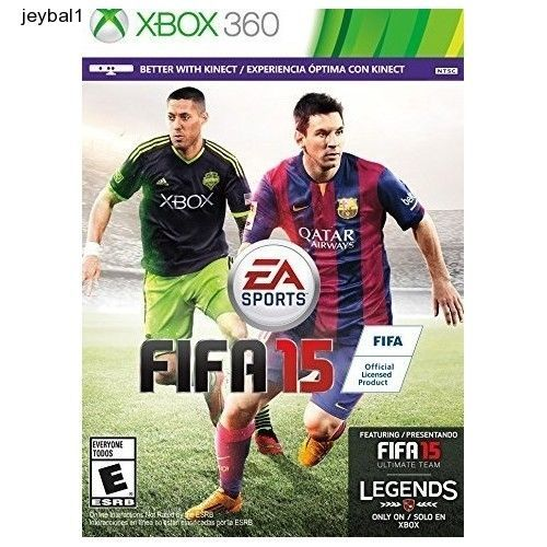 Fifa 15 XBox 360 (Used) - Video Game Standar Edition Free Shiping
