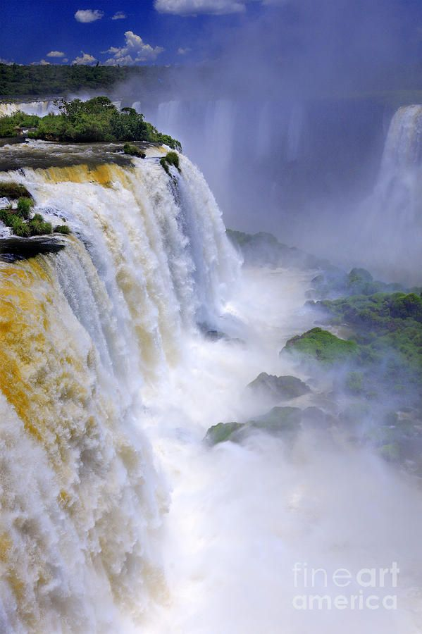 ✯ Iguazu Falls. Is this real...