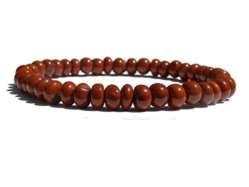 #ZENstore Red Jasper Disc Bracelet  http://www.amazon.co.uk/dp/B00NFMJNZS/ref=cm_sw_r_pi_dp_93oyub0908WNZ