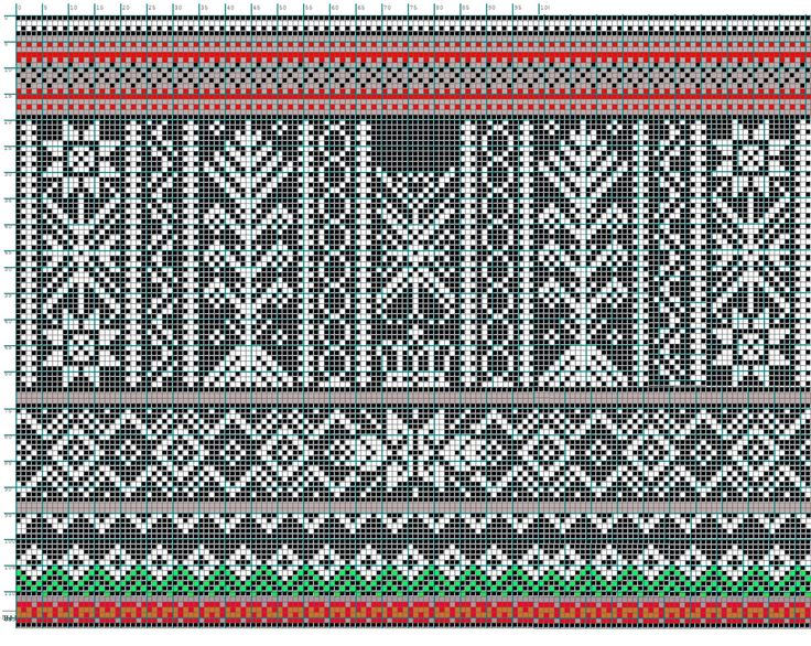 752 best Knit Charts- Fair Isle images on Pinterest | Hand crafts ...