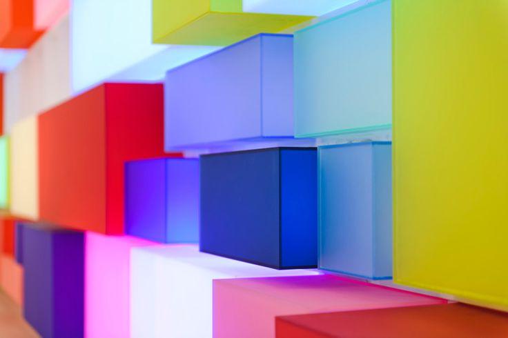 coloured plexiglass wall - Google Search