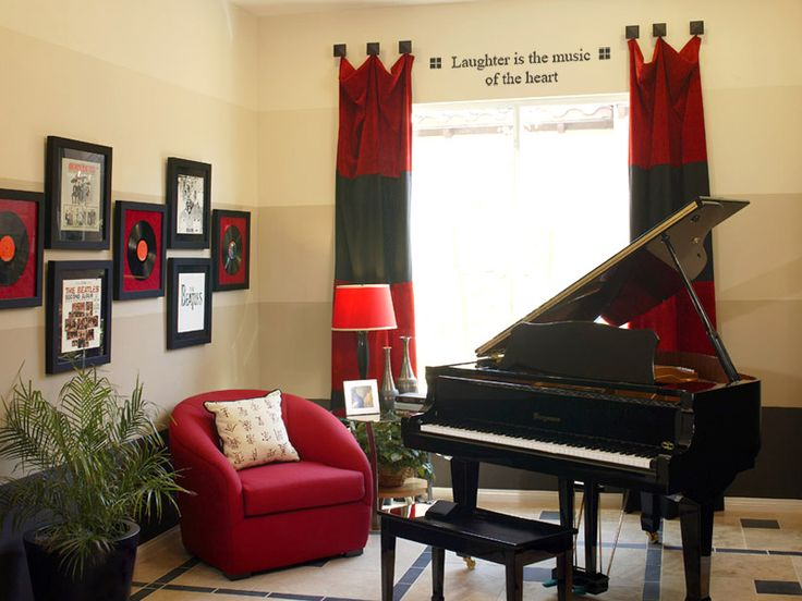 A Music Room Idea | Dream House | Pinterest | Room, Room Ideas And Music  Themed Rooms