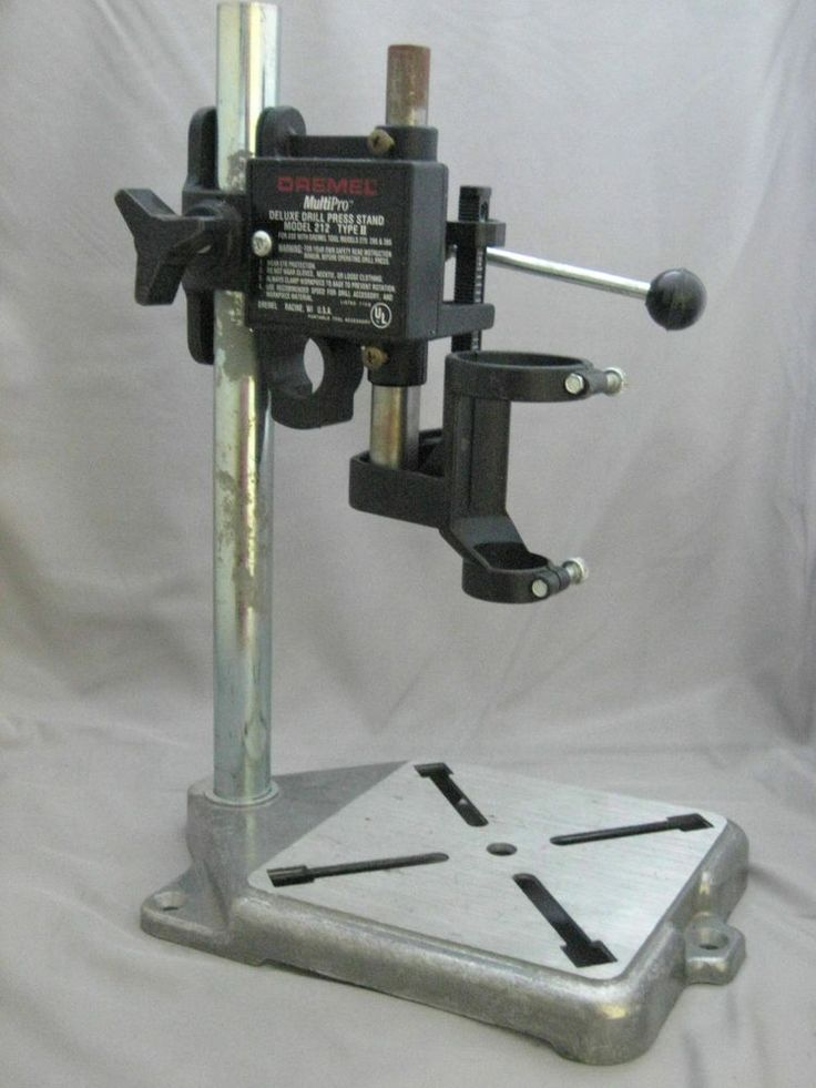 #Dremel MultiPro Deluxe Drill Press Stand Model 212 Type II