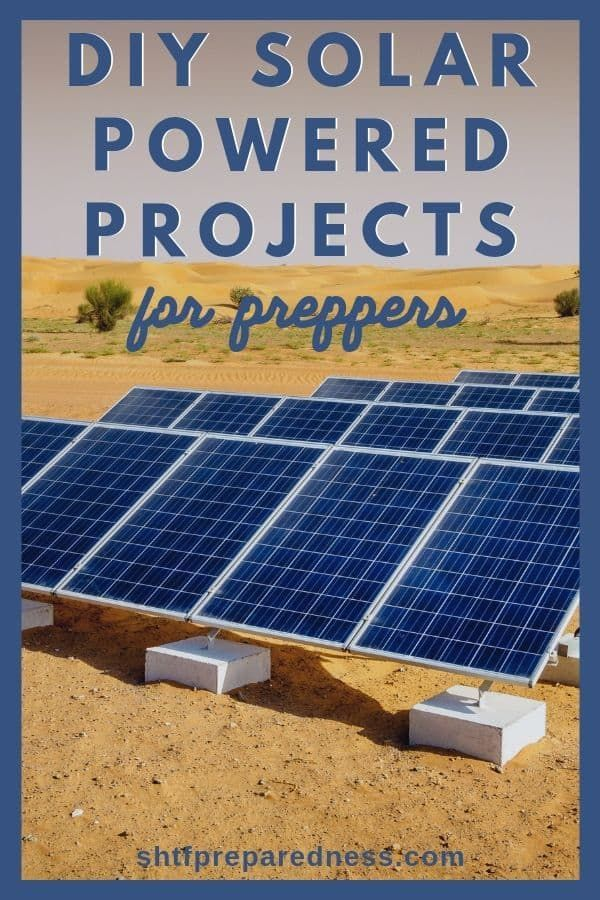 Be Prepared For A Power Outage With These Simple But Efficient Solar Powered Projects Solarpower Solarpowered Offthegrid Pre Solar Solar Panels Diy Solar