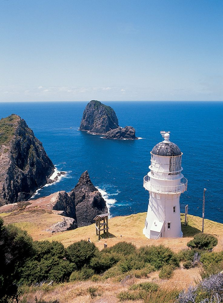 Bay of Islands, New Zealand | Come Seek the many secluded lighthouses located discreetly on the shores of this exotic locale.