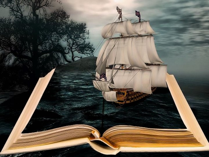 Books will take you on adventures...