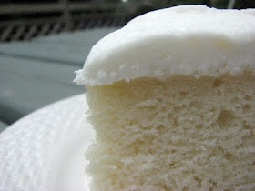 White Almond Cake recipe-with doctored up cake mix!