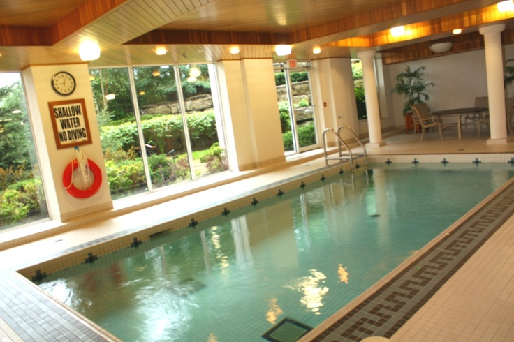 Indoor pool with jet stream, 40 old mill road, luxury condo