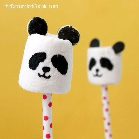 panda marshmallow