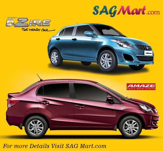 best comparison between famous four wheelers in India. http://www.sagmart.com/newsdetails/honda-amaze-vs-swift-dzire