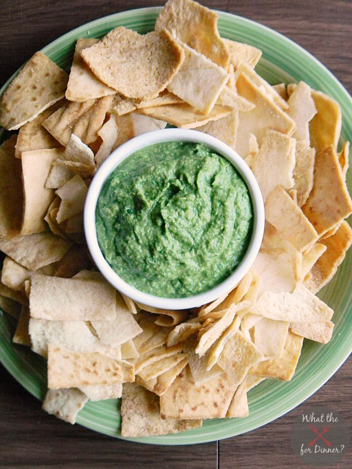Green Hummus aka spinach hummus #Savorx #AppetizerWeek