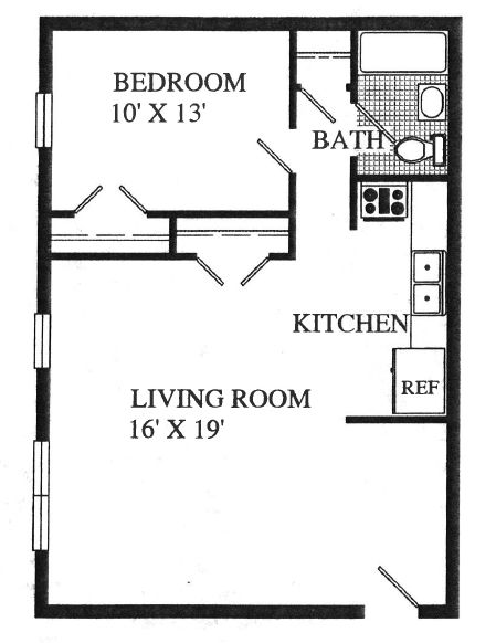 1 Bedroom Trailer Floor Plans | Dublin Village Apartments photos, apartments for rent in Doylestown ...