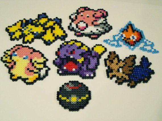 Pokemon Bead Sprite Set Make Your Own Pokemon by ToughTurtles