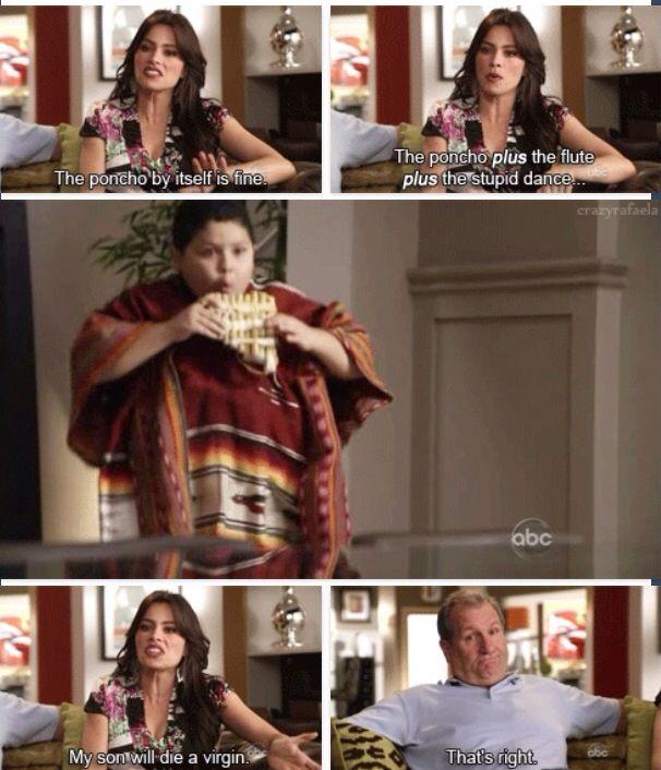 Gloria joke #modernfamily