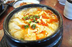 トロント観光ブログ : コリアンタウンの豆腐鍋☆