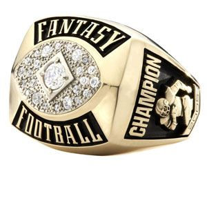 Fantasy Football Rings