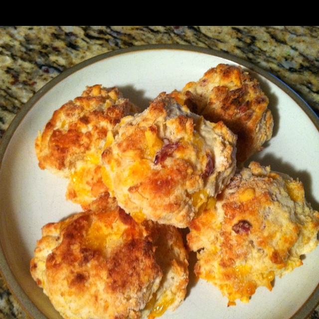 Bacon cheddar buttermilk drop biscuits | Food Deliciousness! | Pinter ...