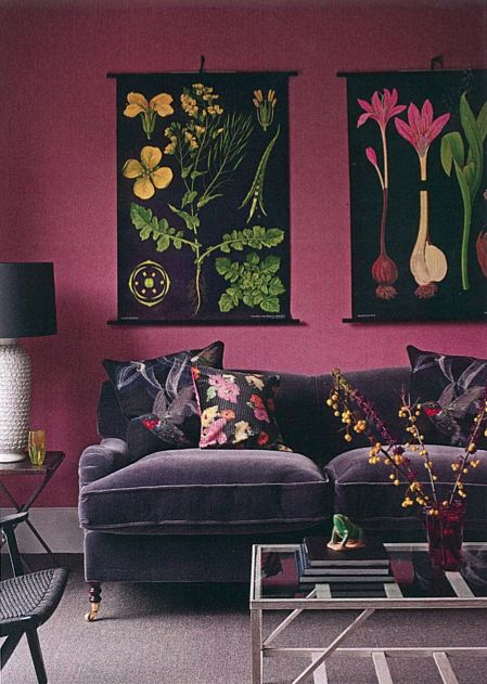 Homes & Gardens magazine, october 2013 issue-lLove this Purple Furniture
