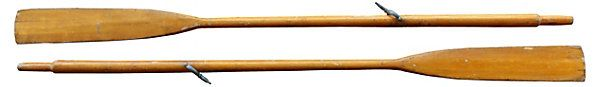 Natural Wood Finish Oars, Pair | Cool Winter Style | One Kings Lane