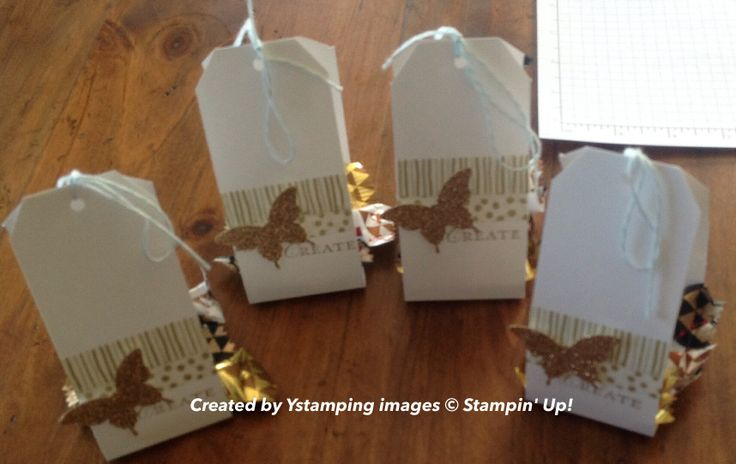 Ystamping - Tag punch treat holders