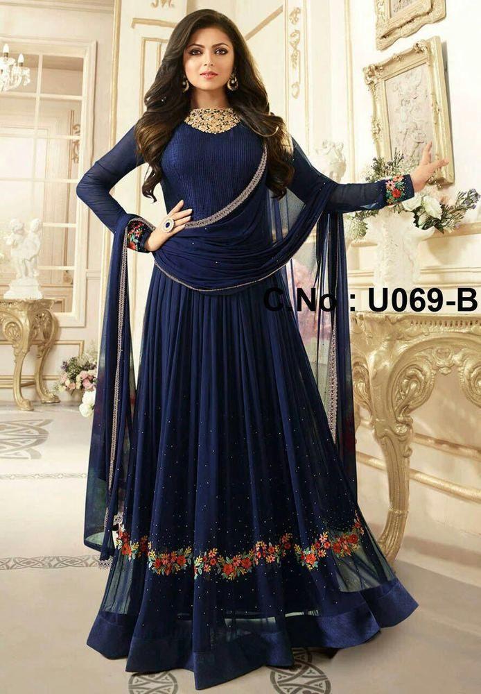 new indian pakistani wedding drees bollywood stayle holi special suit salwar 2 #krishacreation #weddingdreessuit