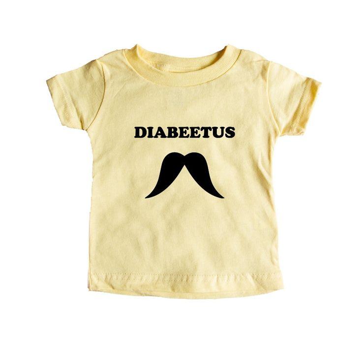 Diabeetus Diabetes Internet Text Posts Stories Online Computers Meme Memes Video Viral SGAL8 Baby Onesie / Tee
