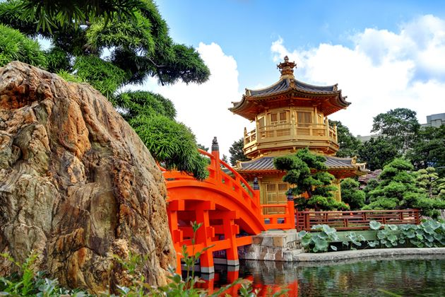 Explore some serene oriental scenery in the Nan Lian Garden in Kowloon. It was opened in 2006 to showcase traditional Chinese culture, and features a number of waterfeatures. The centrepiece though is the beautiful Pavilion of Absolute Perfection. Says it all really doesn't it.