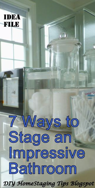 Best 25 home staging tips ideas on pinterest house for Bathroom staging ideas