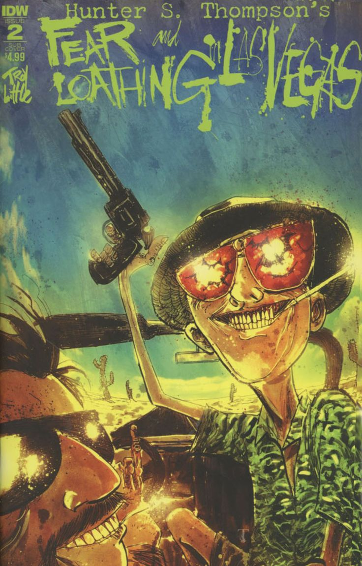 145 best fear and loathing hunter s thompson images on hunter s thompsons fear and loathing in las vegas 2 cover b variant ben templesmith madrichimfo Choice Image