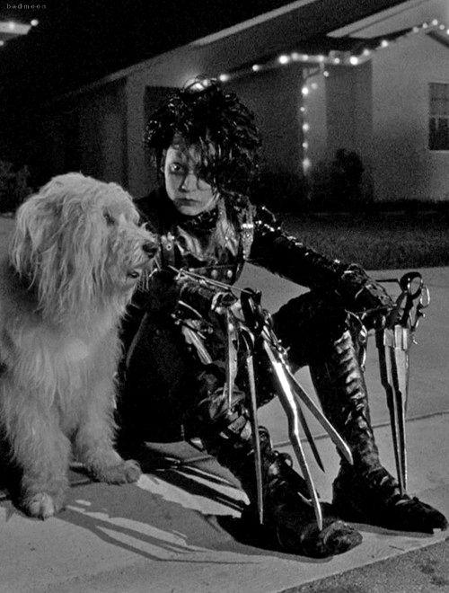 Johnny Depp - 'Edward Scissorhands', 1990. ☀