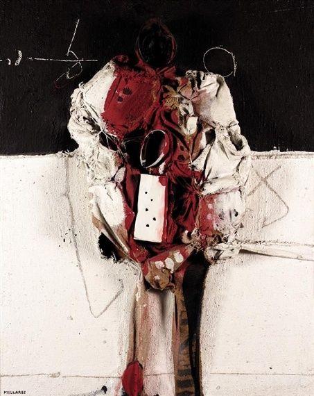 Manolo Millares - Descubra las obras disponibles a la venta en www.modum-art.com #modumart