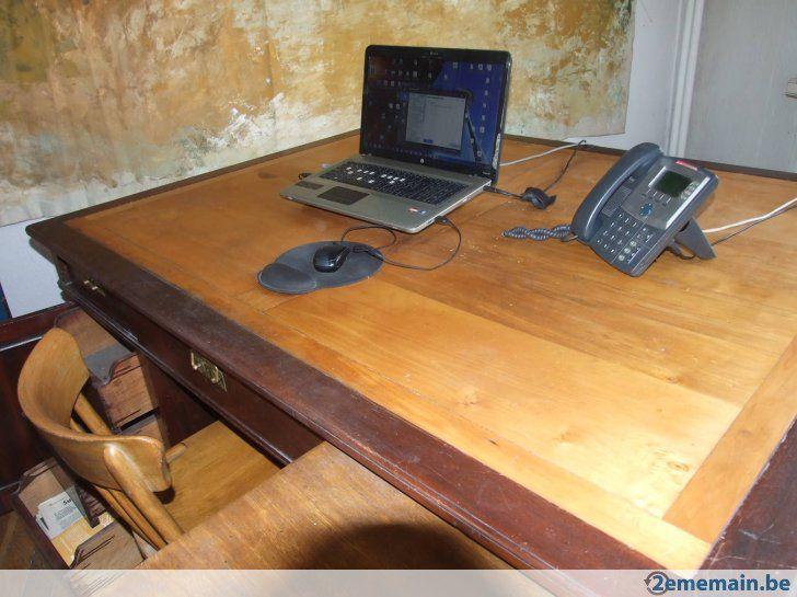 Bureau ancien (double) - A vendre à Bruxelles