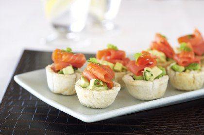 Regal Artisan Salmon Tartlets With Avacado Salsa