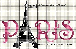 Free Patterns - Cross Stitch Paris