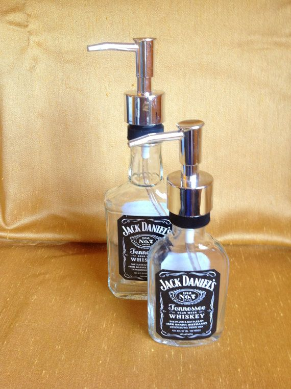 Jack Daniels Soap Dispenser Set