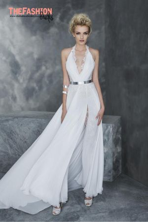 A bridal pantsuit is a cool alternative to a traditional dress and a great option for a rehearsal dinner. As such pantsuits are one of the hottest 2016 trends, many designers presented one or more …