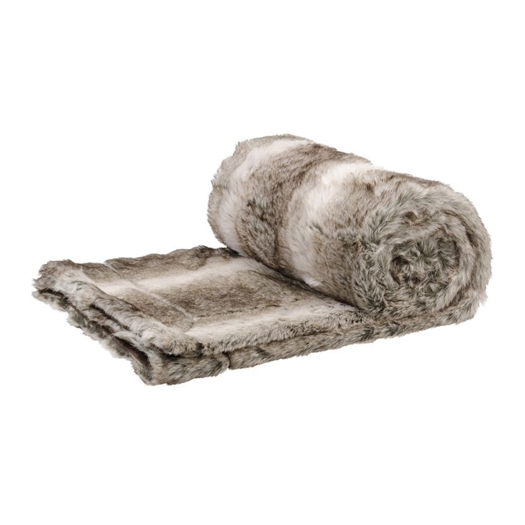 Embrace the comfort and #AddWarmth with this ermine faux fur throw while bringing a cosy mood to your space.