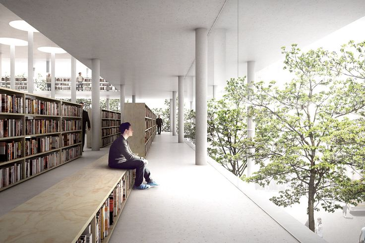 library interior - Google 搜索